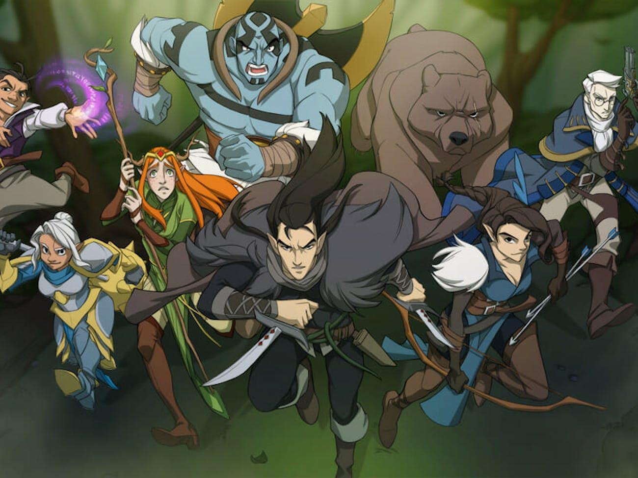 Critical Role Animated Series: After Kickstarter, Work Begins