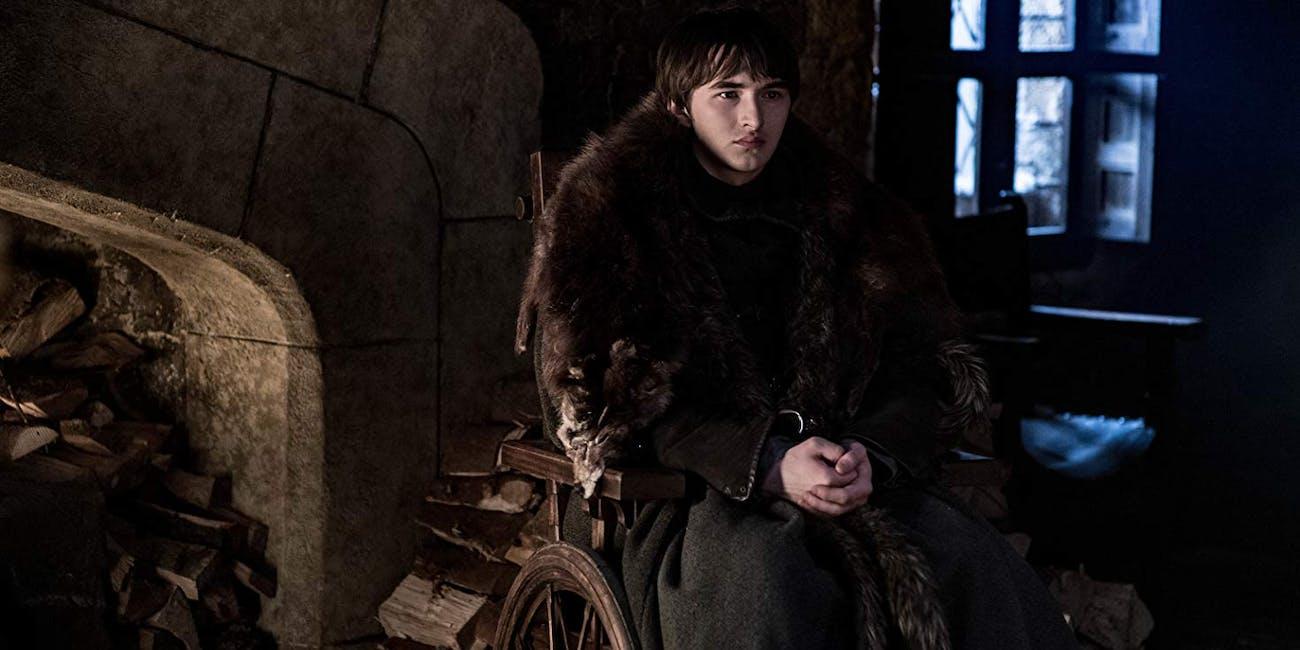 Isaac Hempstead Wright as Bran Stark on 'Game of Thrones'