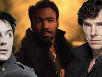 Captain Jack Harkness, Captain Lando Calrissian, and Sherlock Holmes