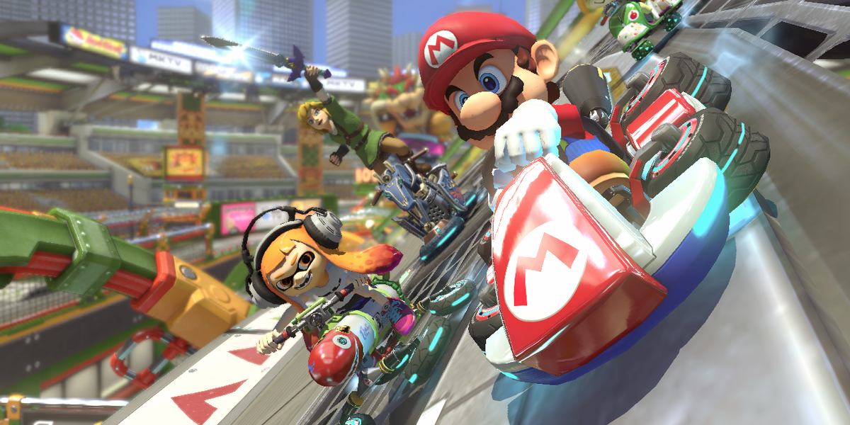 'Mario Kart 8 Deluxe' Adds Smart Steering and 'Splatoon' on Nintendo Switch
