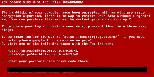 NotPetya Virus Cyberattack