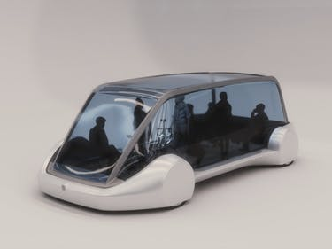 What New Photos Reveal About the Boring Company's Mass Transit Pod