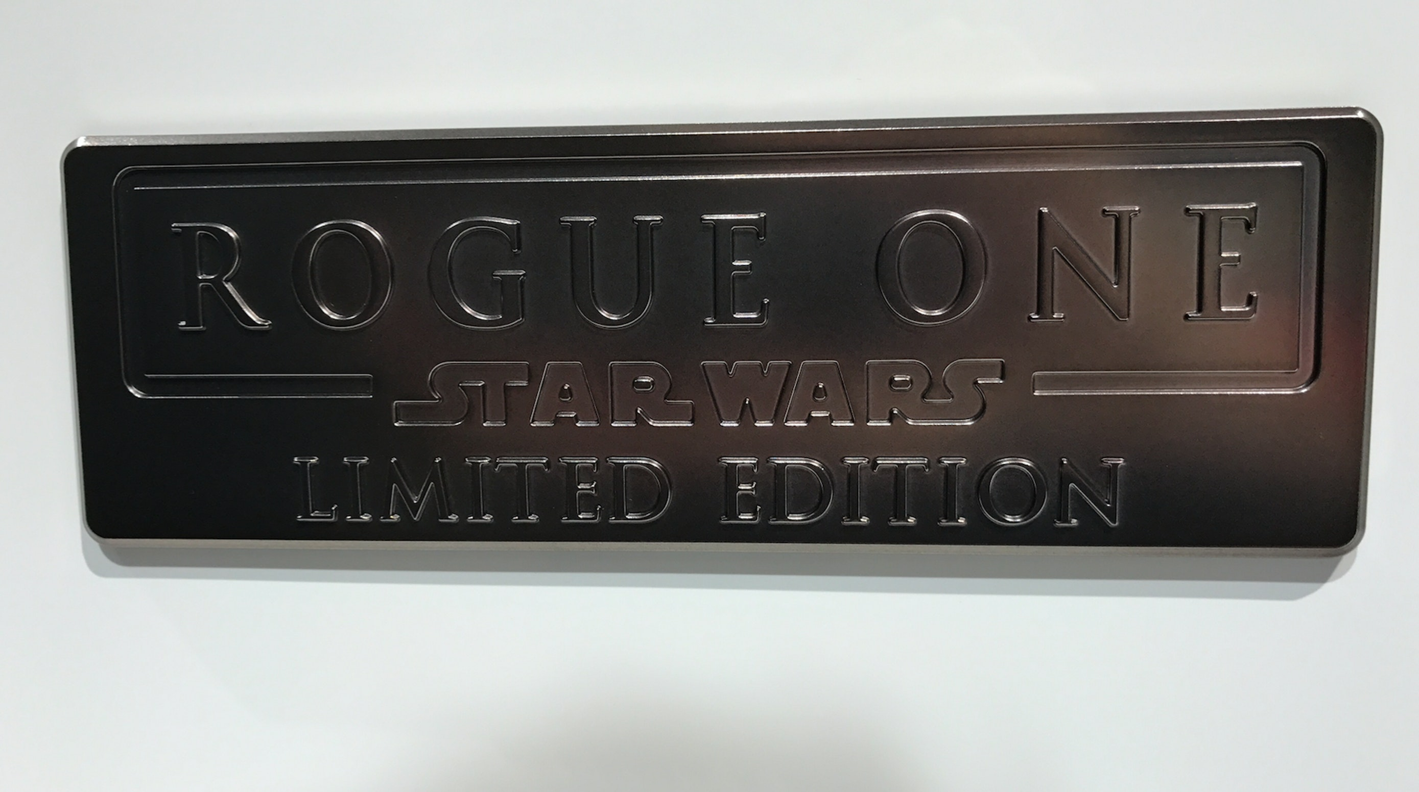 A 'Rogue One' doorbadge.