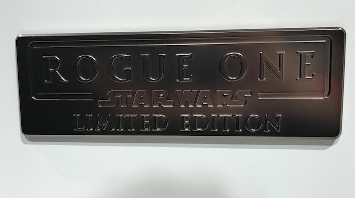 A 'Rogue One' doorbadge.