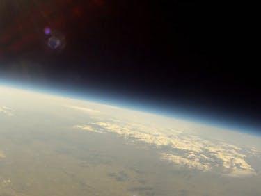 NASA solar eclipse experiment bacteria Mars