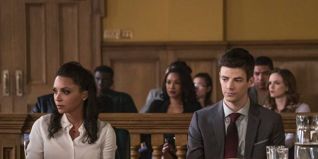 Barry Allen faces trouble with the law.