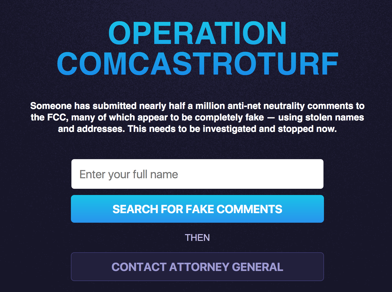 Comcast accused of siccing lawyers on net neutrality foe
