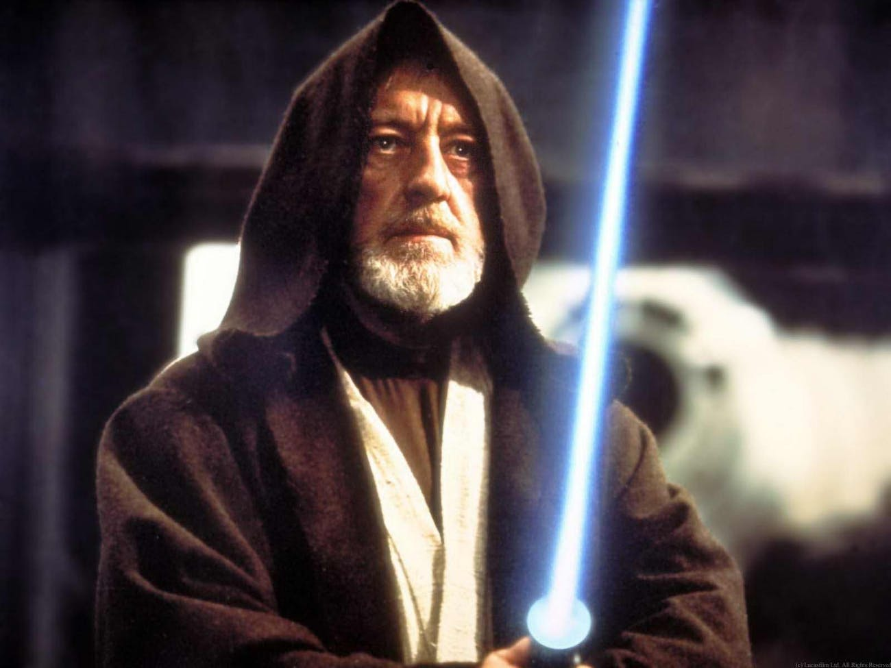 Obi Wan Kenobi in the original 'Star Wars'