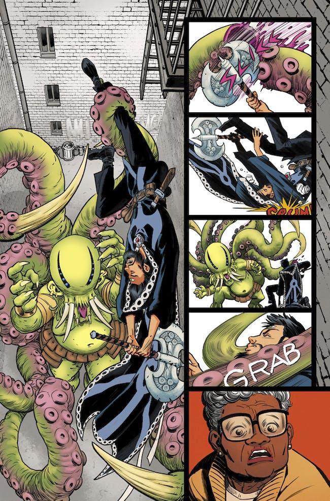 Marvel Comics preview for Doctor Strange and the Sorcerer Supremes