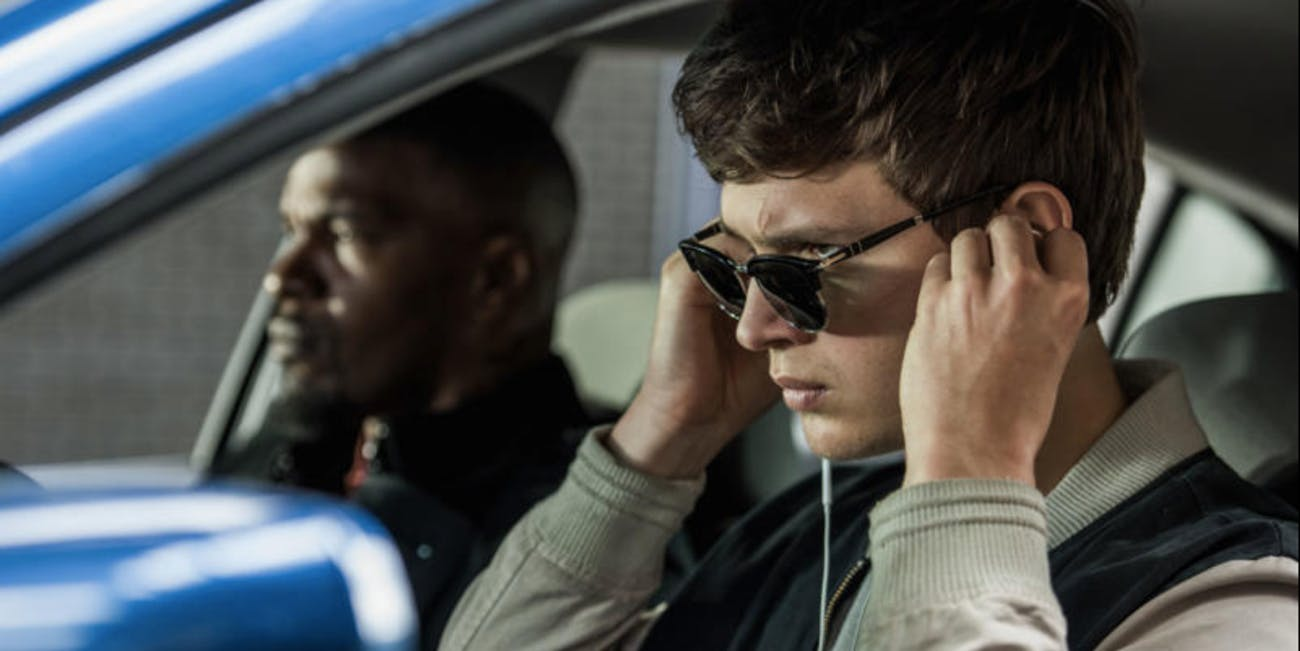 "In ""Baby Driver"" music helps with the driving."