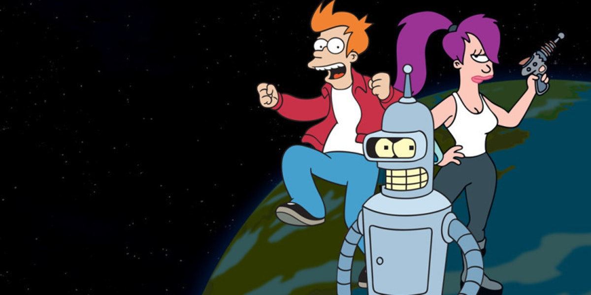 How to Pass Notes in 'Futurama''s Alien Language