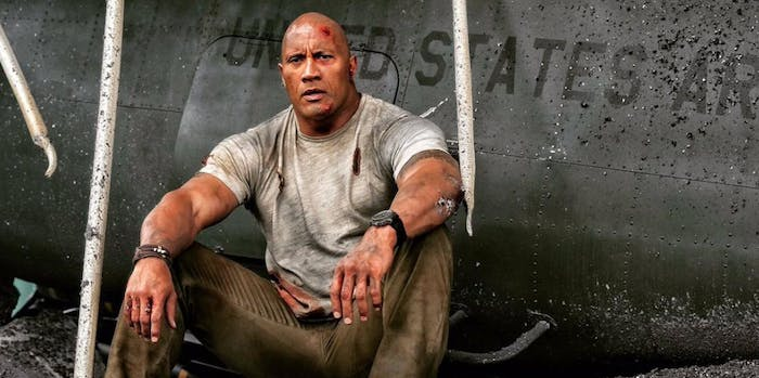 "Dwayne ""The Rock"" Johnson in 'Rampage'."