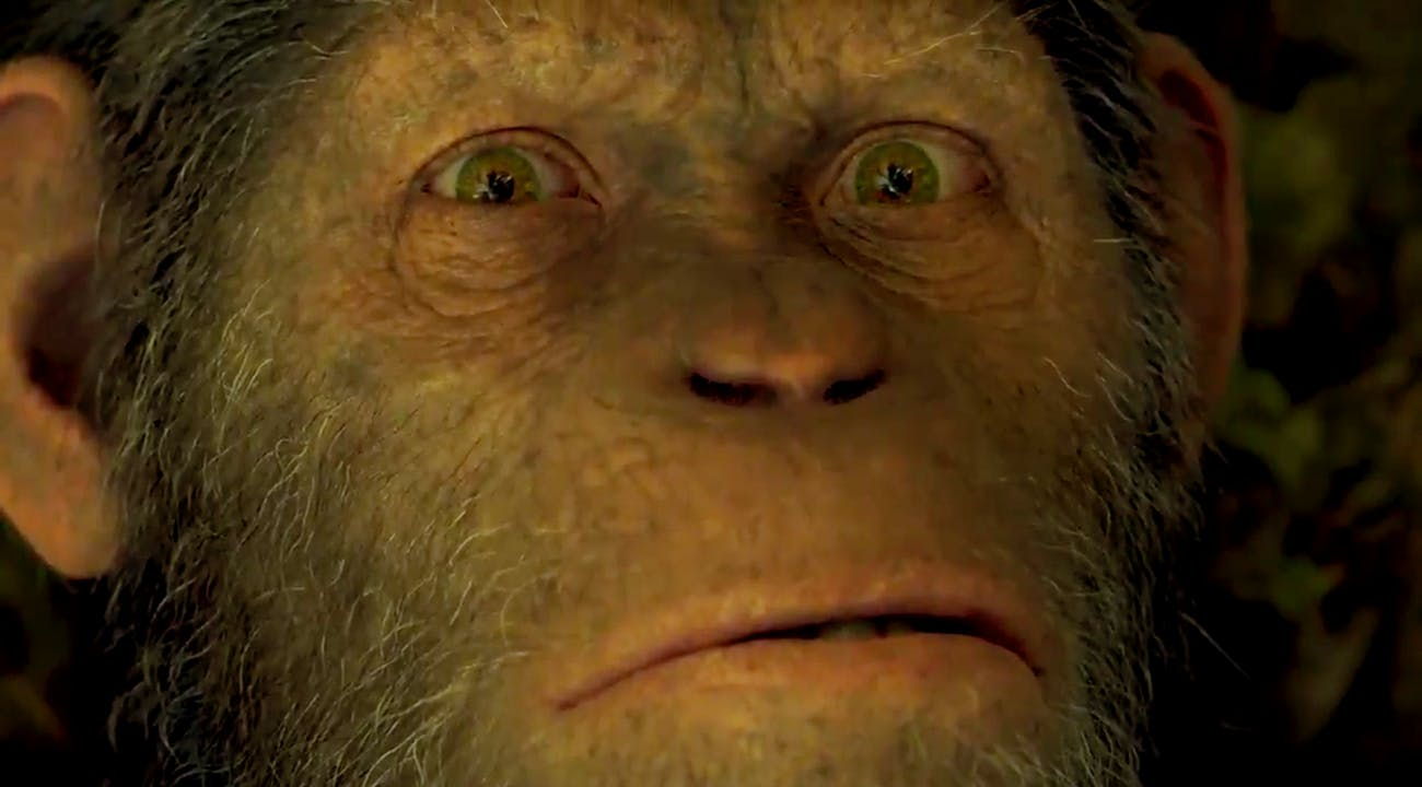 Ceasar in War for the Planet of the Apes