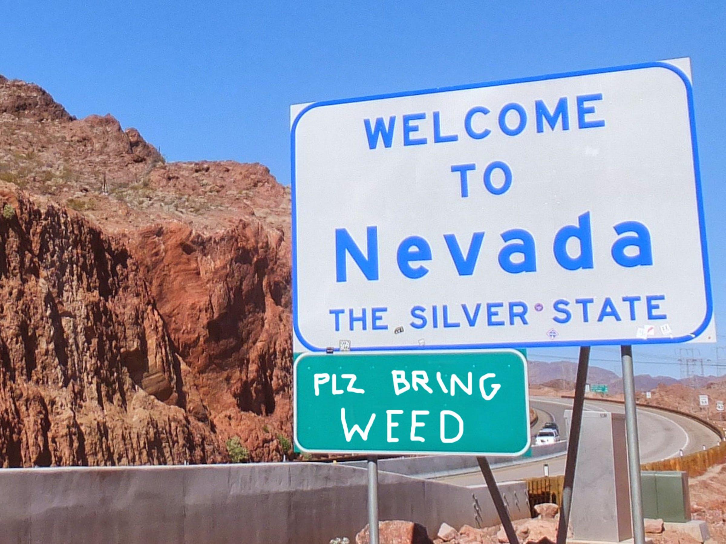 nevada weed legal