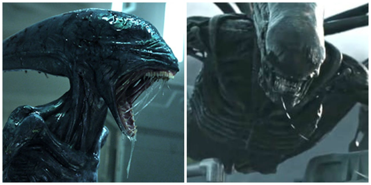 'Alien: Covenant' Trailer Creates 'Prometheus' Canon ...Xenomorph Queen Prometheus