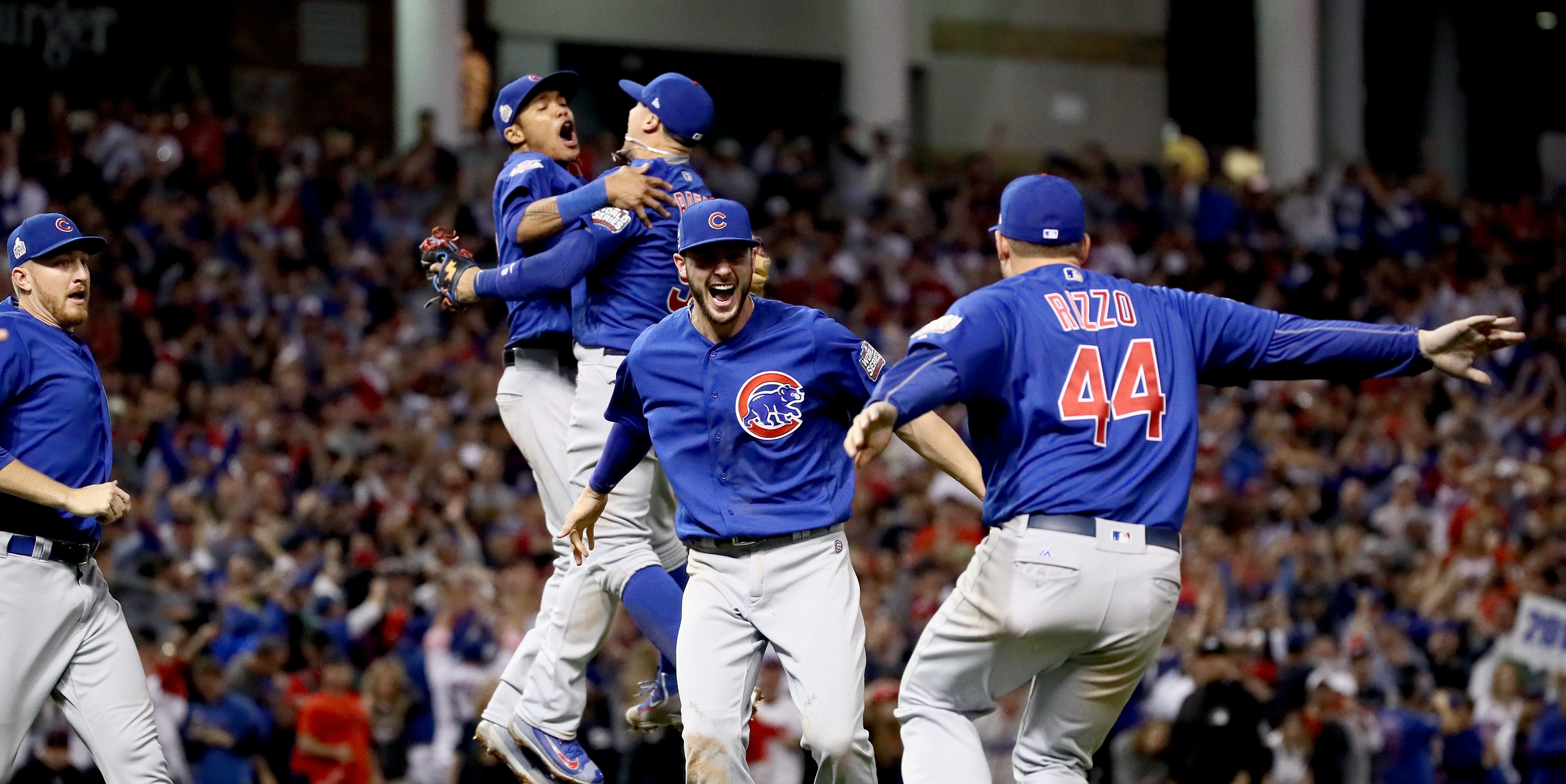 Chicago Cubs smell great.