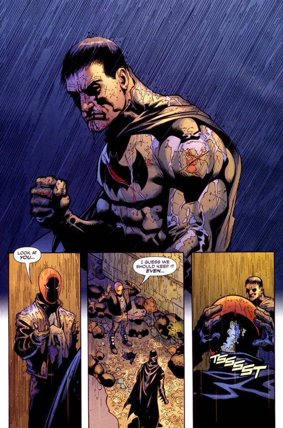 Batman Red Hood Jason Todd