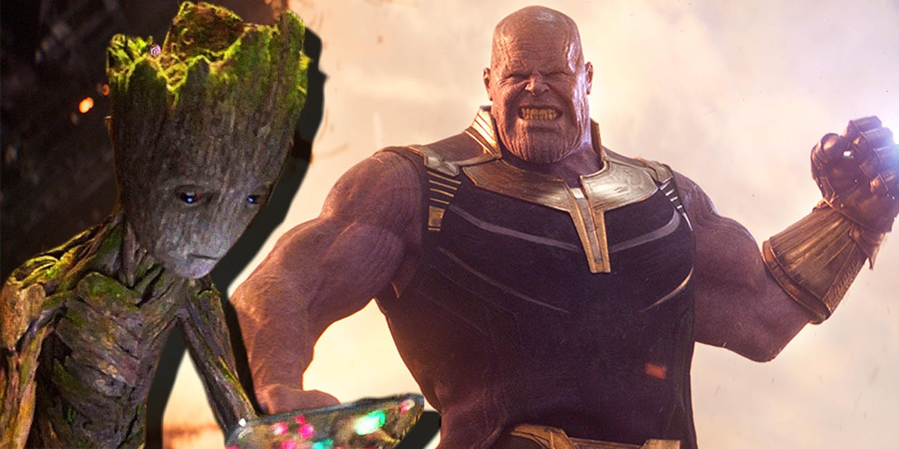 Infinity War Groot