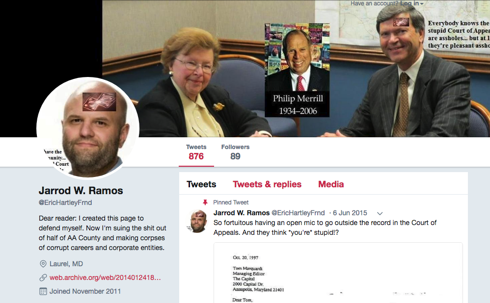 "Dudes.... holy shit. I went to James Gunn's Twitter, and his first tweet at the time is this. Where have we seen this symbol before!? This is the twitter header of Jarrod Ramos (before his account was suspended), the shooter that killed 5 people at the Capital Gazette in Maryland a few weeks ago. It's the same fucking symbol! And this lil shit just happens to be putting out a movie with it? The symbol's called the 'Brand of Sacrifice', from the franchise called Berserk. I don't know much about the franchise itself, but I do know I recognized that symbol from Jarrod Ramos' twitter back at the end of June. And Q's posts mentioning the shooting: here, and here.  Here's the description of the mark from the wiki  for people who don't wanna click:   ""You have now been marked with the Brand of Sacrifice. The lives of those who bear the Brand, from the last drop of blood, to the last moment of your agonizing death*, will feed life to the new Child of Darkness.""*   Creepy af. And this POS was joking about pedophilia openly on Twitter. Also wow, does this Q post (also linked above) ever stick out to me right now.  WE'RE GETTING IN DEEP NOW. THESE PEOPLE ARE FUCKED."