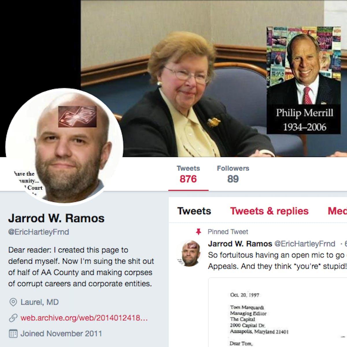 Jarrod Ramos, the 'Capital Gazette' Shooter, Was An Online Troll