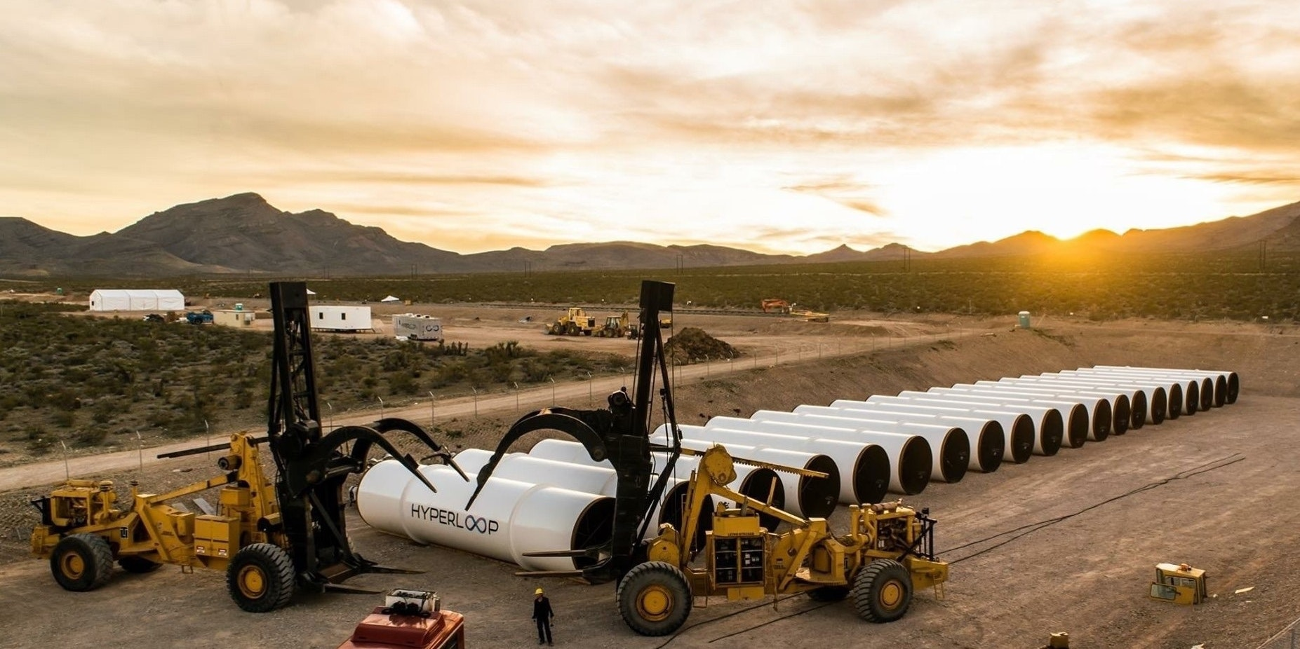 Hyperloop One to Conduct First Test of Its Propulsion System Today in Las Vegas Desert