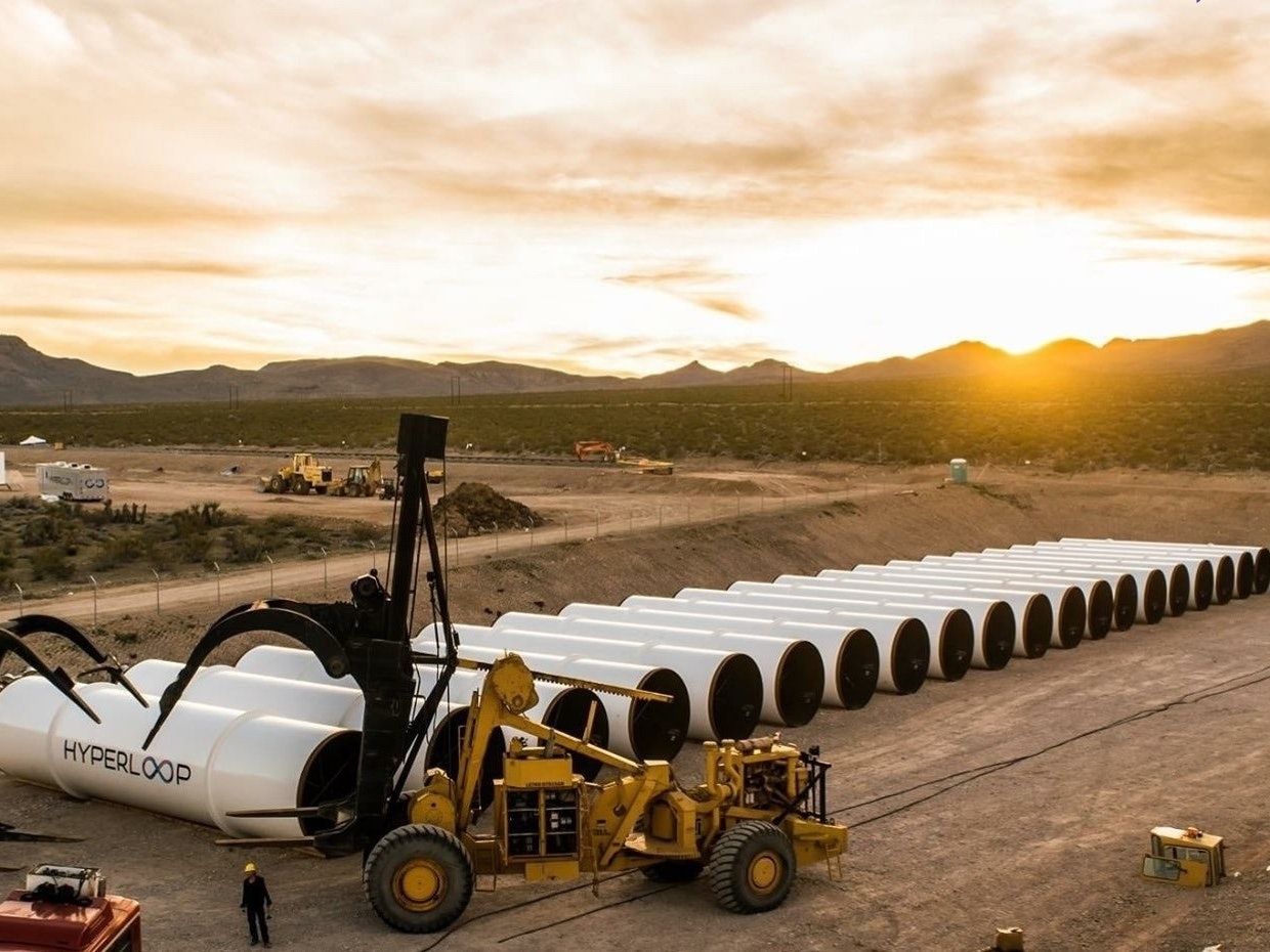 Hyperloop One to Conduct First Test of Its Propulsion System in Las Vegas Desert