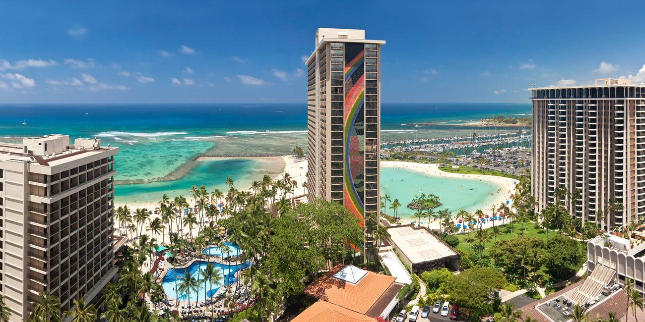 Hilton Hawaiian Village - Waikiki, Hawaii