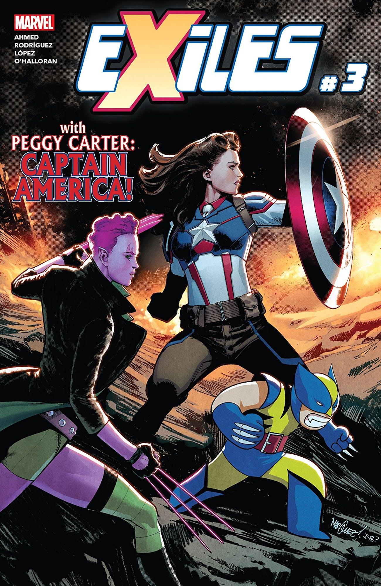 Marvel Exiles Peggy Captain America