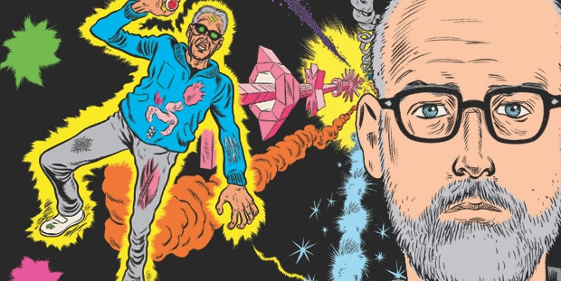 Daniel Clowes' self portrait