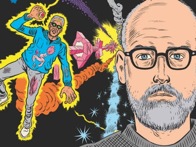 Daniel Clowes is Reworking His Next Book After Trump's Victory