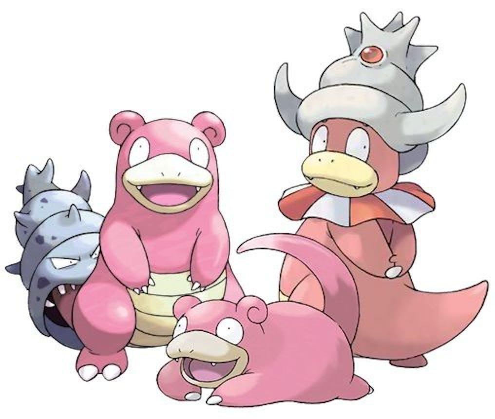 slowpoke slowbro slowking pokemon