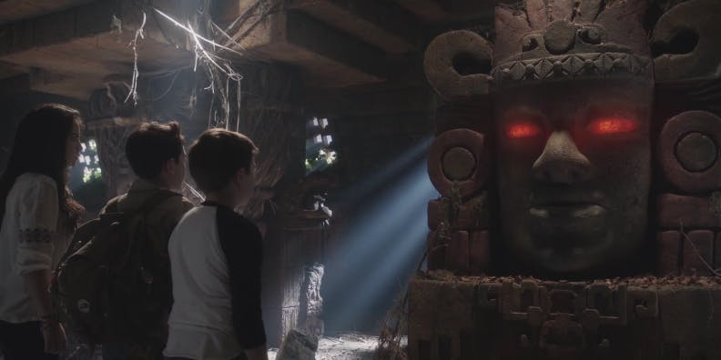 Olmec in 'Legends of the Hidden Temple'