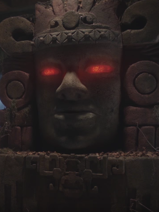 Olmec in 'Legends of the Hidden Temple'