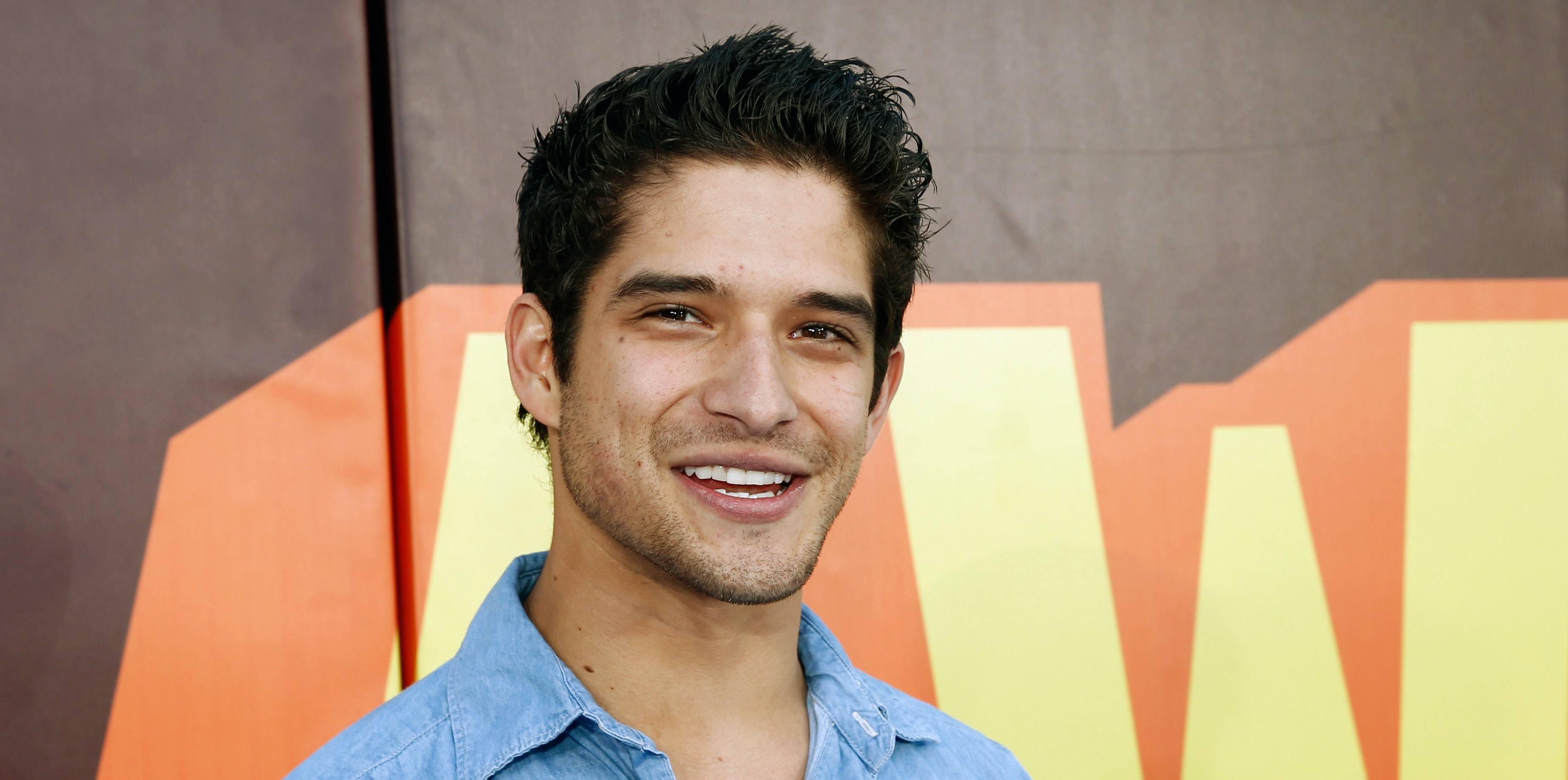 LOS ANGELES, CA - APRIL 12:  Actor Tyler Posey attends The 2015 MTV Movie Awards at Nokia Theatre L.A. Live on April 12, 2015 in Los Angeles, California.  (Photo by Rich Polk/Getty Images for MTV)
