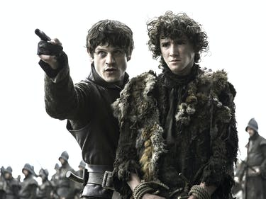 Iwan Rheon as Ramsay Bolton in 'Game of Thrones'