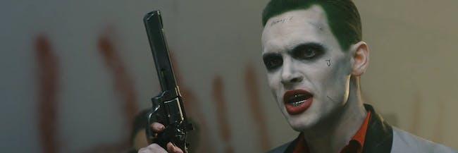 """Jan Flugum as Jared Leto Joker in an ismahawk fan film """"Joker vs Joker"""""""