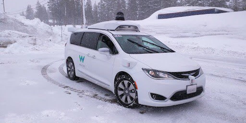 Waymo S Snow Tests Are Vital To The Future Of Self Driving Cars