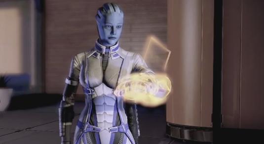Liara T'Soni in 'Mass Effect'