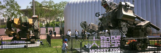 Monkey King and the Mk.II on display at GMX's G-Festival!