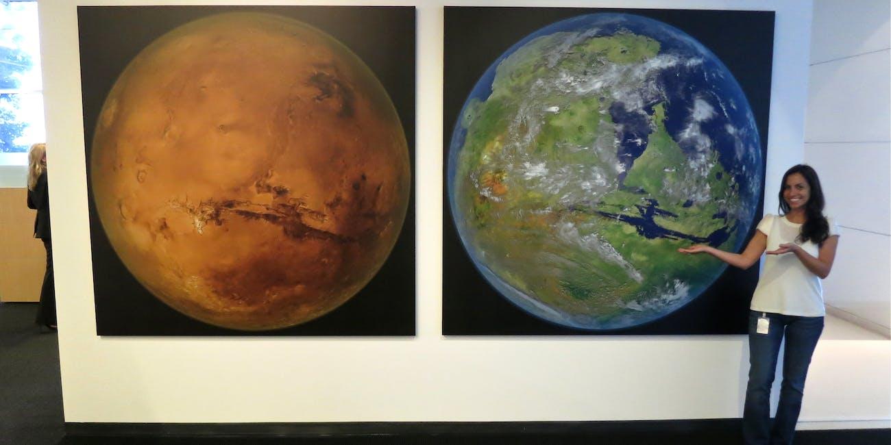 We bring you Mars