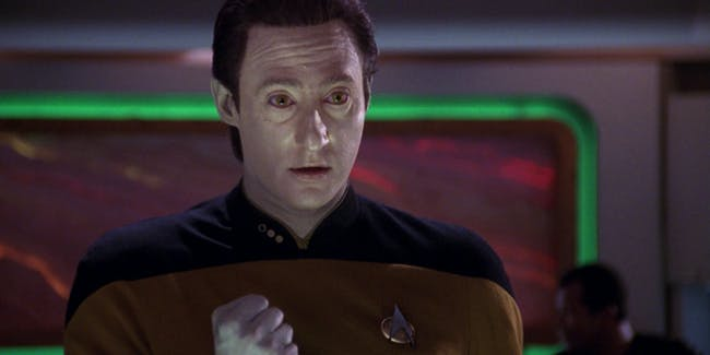 Data in 'Star Trek: The Next Generation'