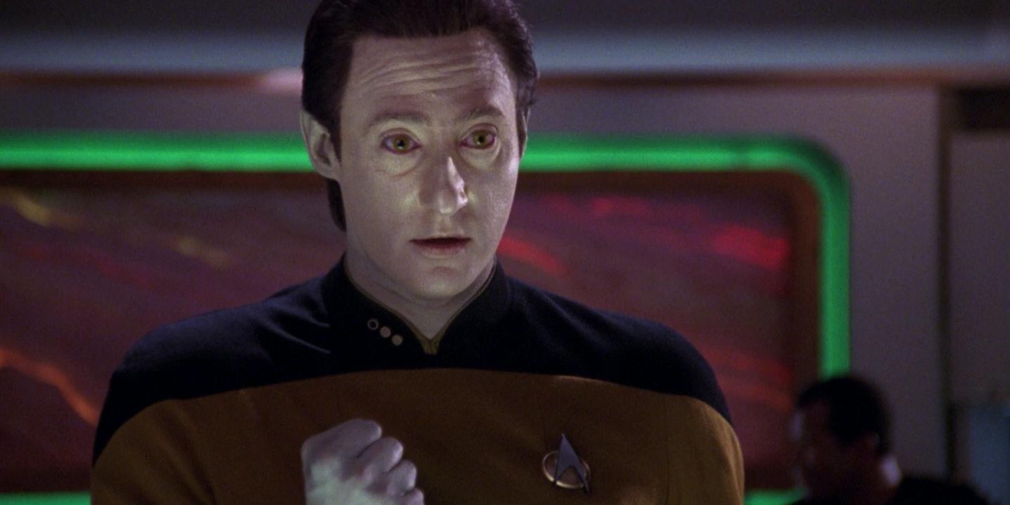 Data in 'Star Trek: The Next Generation'