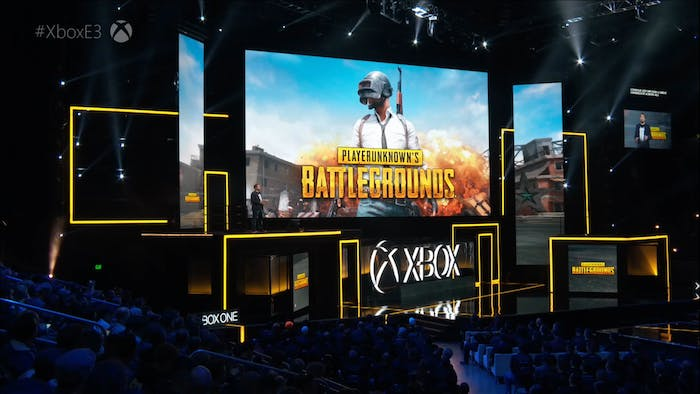 Xbox One X Microsoft E3 2017 PlayerUnknown's Battlegrounds