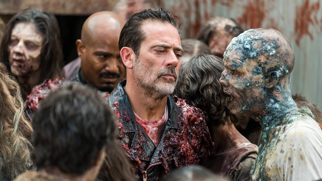 Negan's story is just about over on 'The Walking Dead'.