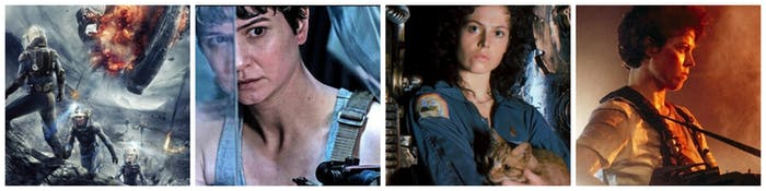 The 'Alien' timeline ... for now: 'Prometheus' (2012), 'Alien: Covenant' (2017), 'Alien'(1979), 'Aliens' (1986)