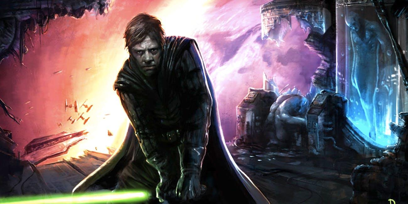 Starkiller Clone and Darth Vader vs DE Luke Skywalker                                                             Dark-horse-comics-dark-empire