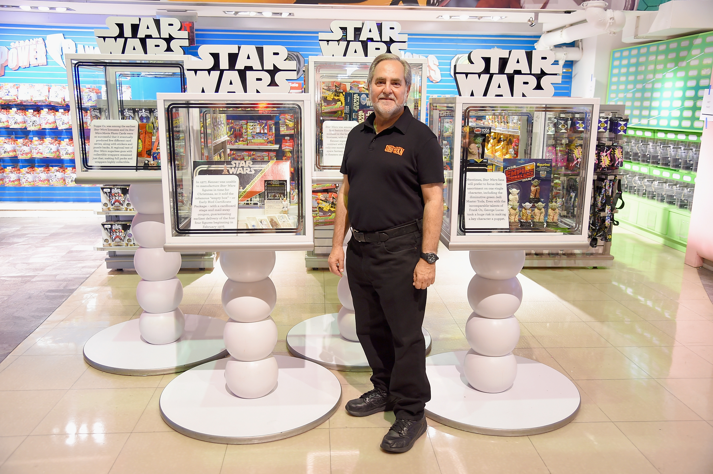 NEW YORK, NY - SEPTEMBER 04:  Author Steve Sansweet attends Toys'R'Us Force Friday With Out-Of-This-Galaxy Midnight Events on September 4, 2015 in New York City.  (Photo by Michael Loccisano/Getty Images for Toys'R'Us)