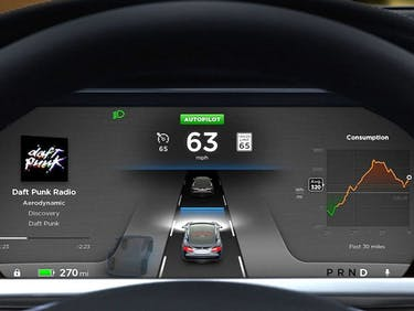 This Infographic Shows How Tesla Autopilot Sees the World