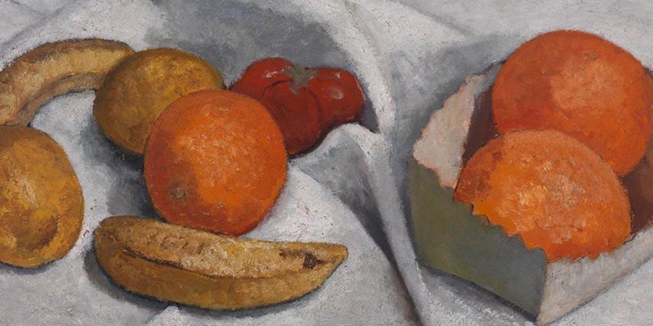 Paula Modersohn-Becker, Stillleben mit Früchten, 1906