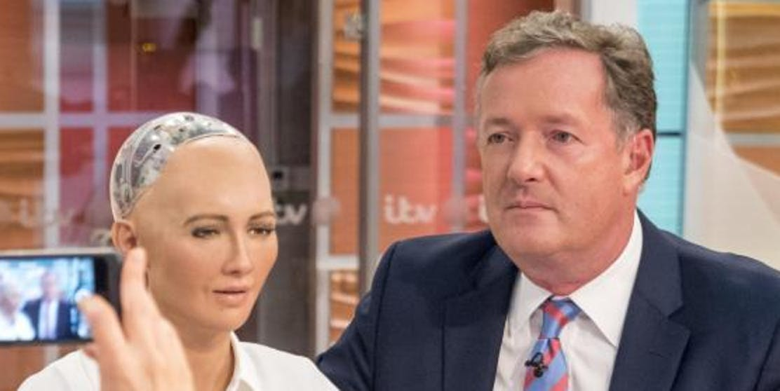 piers morgan sophia robot good morning britain